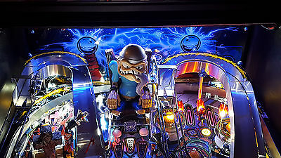 Fish Tales/Metallica Pinball backboard light