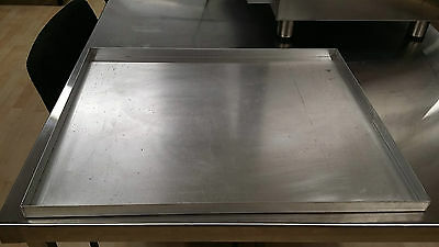 Aluminium Tray 4 Sided Double Gastronorm 650x530mm