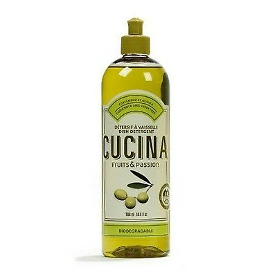 Coriander and Olive Cucina Dish Detergent 500ML by Fruits & Passion [Beauty]