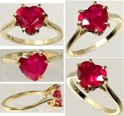 19thC Antique Handcrafted 2¼ct Ruby Ancient Etruscan Roman God War Mars Gem 14kt