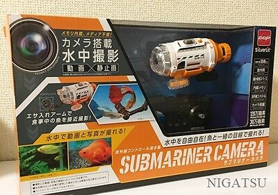 NEW CCP 82418-WH Sub-Mariner camera Camera equipped submarine RC from JAPAN