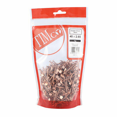 TIMco Copper Clout Nails - 3.35 x 38mm / 3.35 x 50mm