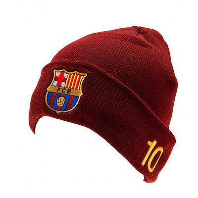 F.C Barcelone - Knitted Hat (MESSI - TU) - GIFT