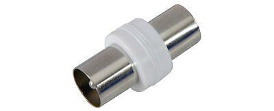 Coaxial coupler socket to socket