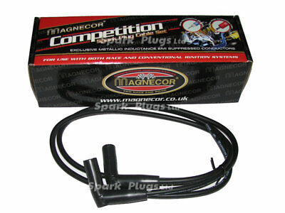 Magnecor 7mm black Silicone HT Leads for Ducati Monster and SS