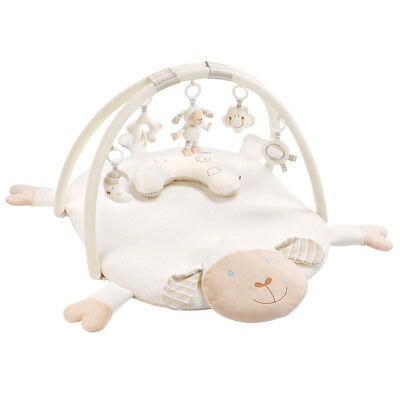 Fehn 154580 - 3D Activity Decke mit Kissen - Baby LOVE