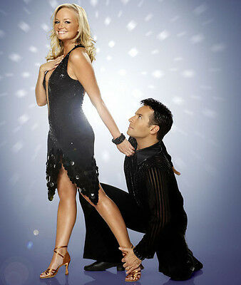 Emma Bunton and Darren Bennett UNSIGNED photo - D1713 -  Strictly Come Dancing