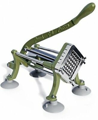 New Star 42313 Commercial Grade French Fry Cutter With Suction Feet, 1/2-Inch