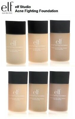 E.L.F Cosmetics 1 x Acne Fighting Foundation Makeup Maquillaje Anti-acné elf
