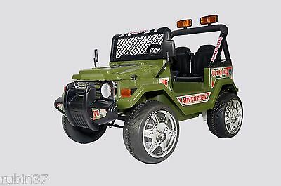 Ride On Toy Car Jeep Wrangler 12Volts Battery Power  Remote Control Truck