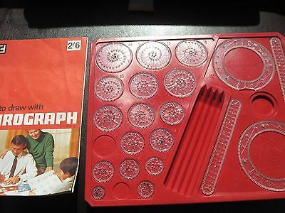 Vintage 1968 Spirograph Game - SELECT YOUR REPLACEMENT GAME PIECE / PART / COG