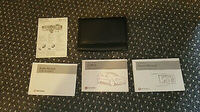 Vauxhall Corsa & Combo Owners Handbook / Manual And Wallet