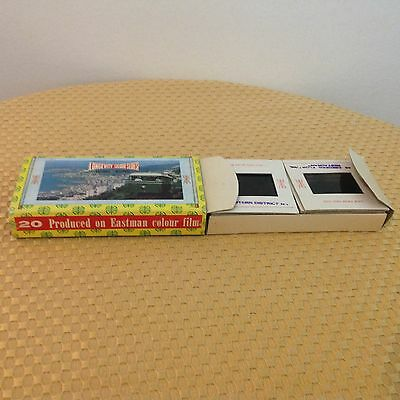 "1 - Vintage Pana-Vue 1 Lighted 2"" x 2"" Slide Viewers With Box"