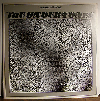 "12"" THE UNDERTONES - The Peel Sessions  1986"