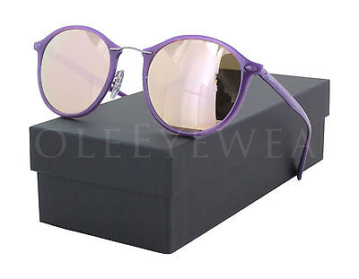 42faaa6ce7 NEW RAY BAN RB 4242 6034 2Y 49mm Violet / Copper Mirror Sunglasses ...