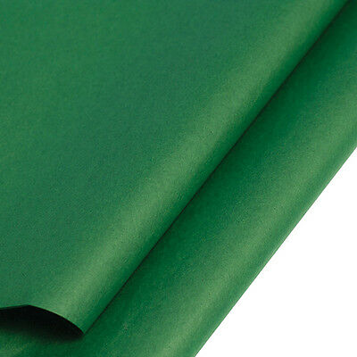 TISSUE PAPER ACID FREE GREEN WRAPPING 35CM X 50CM, Choose No Of Sheets