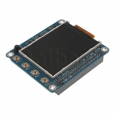 """Brand New LCD TFT 2.2"""" HAT High PPI with Buttons and IR For Raspberry Pi"""
