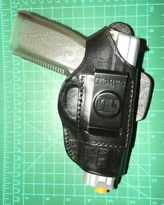 Pro Carry LT RH LH OWB IWB Leather Gun Holster For Kahr CW K P T 9 40 45