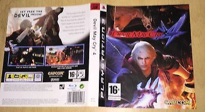 cover artwork for Devil May Cry 4 Ps3 NO GAME DISC INCLUDED