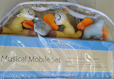 Living Textiles Musical Mobile Set Lullaby Wiegenlied by Johannes Brahms BNIB