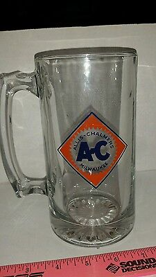 Allis chalmers agco Tractor Glass Beer Mug Stein glass cup brand new free ship!