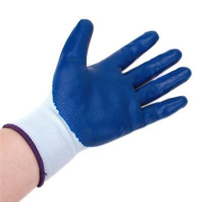 Hot Safety Resistant Protective Work Garden Palm Coating Gloves For Women Men Q