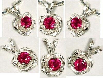 19thC Antique ¼ct+ Flawless Ceylon Ruby Ancient Rome Judicial MagicTalisman .925