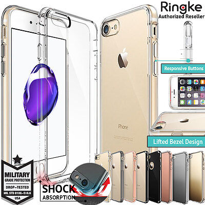 iPhone 8 8 Plus Case 7 Plus 6s For Apple Genuine RINGKE FUSION Drop Proof Cover