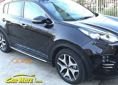 Kia Sportage 2016 Oe Style  Side Steps / Running Boards  Free Delivery