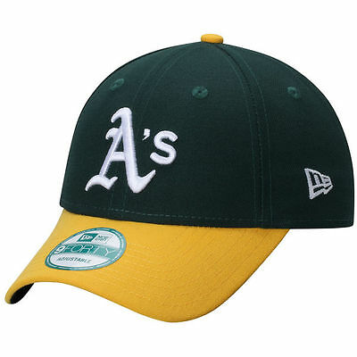 Oakland Athletics MLB Baseball New Era 9Forty Cap Kappe Klettverschluss NEU