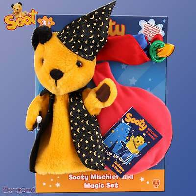 Sooty Mischief and Magic Set inc Hand Puppet Wand Hanky Whoopee Cushion & Book