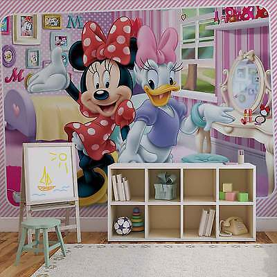VLIES FOTOTAPETE DISNEY Minnie Mouse TAPETE MURAL (1645FW) - EUR 29 ...
