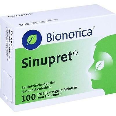 SINUPRET BIONORICA - Sinus congestation-100 tabs FAST DELIVERY