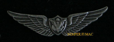 Us Army Mini Aircrew Crewman Wing Badge Minature Hat Pin Helicopter Fix Air Crew