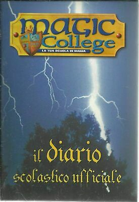 MAGIC COLLEGE La tua scuola di MAGIA (come Harry Potter) DIARIO SCOLASTICO NUOVO
