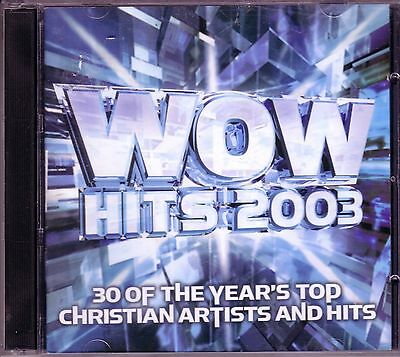 WOW HITS 2003 2CD Classic Great MICHAEL W. SMITH JARS OF CLAY THIRD DAY NEWSONG