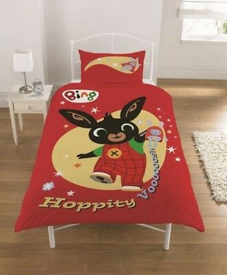 Bing Bunny Single Duvet Cover And Pillow Case Set