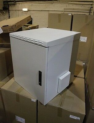 ENCLOSURE SYSTEMS 4556009/G-L WALL RACK CABINET IP55, 9U, 600d, with steel door,