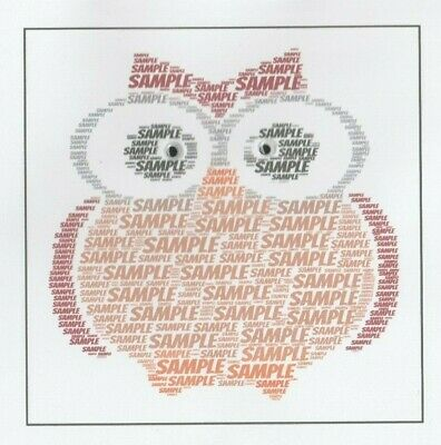 Personalised Owl Birthday Card With 'Moving' Eyes - Boy/Girl/Brownies - Any Name