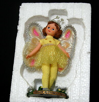 Madame Alexander Yellow Butterfly Princess Figurine 2001 Reproduction Box