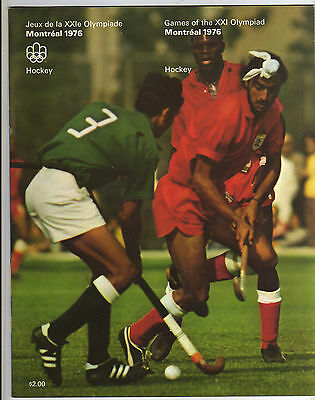 Orig.Complete PRG    Olympic Games MONTREAL 1976  -  HOCKEY  !!   VERY RARE