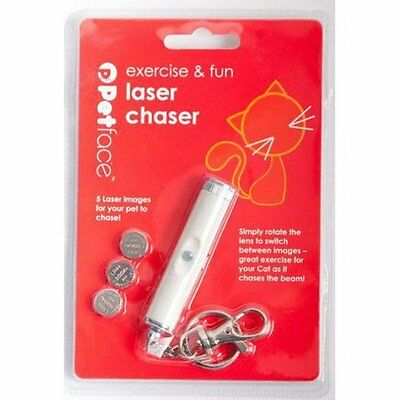 Cat Laser Pen Chaser Toy Pointer 5 Various Images Kitten Dog Toys With Batteries