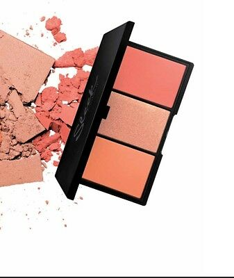 SLEEK Paleta 3 Coloretes, BLUSH BY 3 Palette, Makeup Maquillaje Colorete Rostro