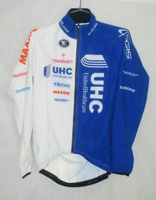 United Healthcare Pro Cycling Team Vermarc Cycling Rain Jacket Size L New 0ce113216