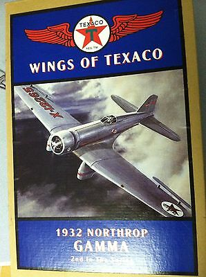 Ertl Wings Of Texaco 1932 Northrop Gamma Airplane Die Cast Coin Bank New