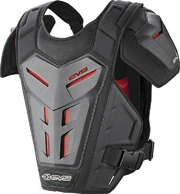 EVS Revo 5 Roost Guard Chest Protector Body Armor Large/XL Black / 412304-0309