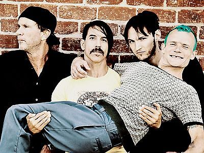 R.h.c.p. Red Hot Chili Peppers 8X10 Band Photo Decor Poster Picture Print 010