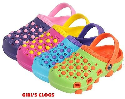 WHOLESALE 36 prs GIRLS Clogs w Only $2.75 ea Mspr $29.99, Fun Pack Colors Sizes