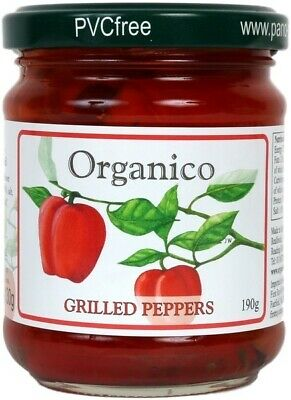 NEW Organico Grilled Peppers (Organic) ~ 190g