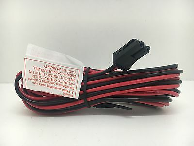 Globe Roamer Brand New GME TX3800 Series Power Cable LE013 DC Power Lead